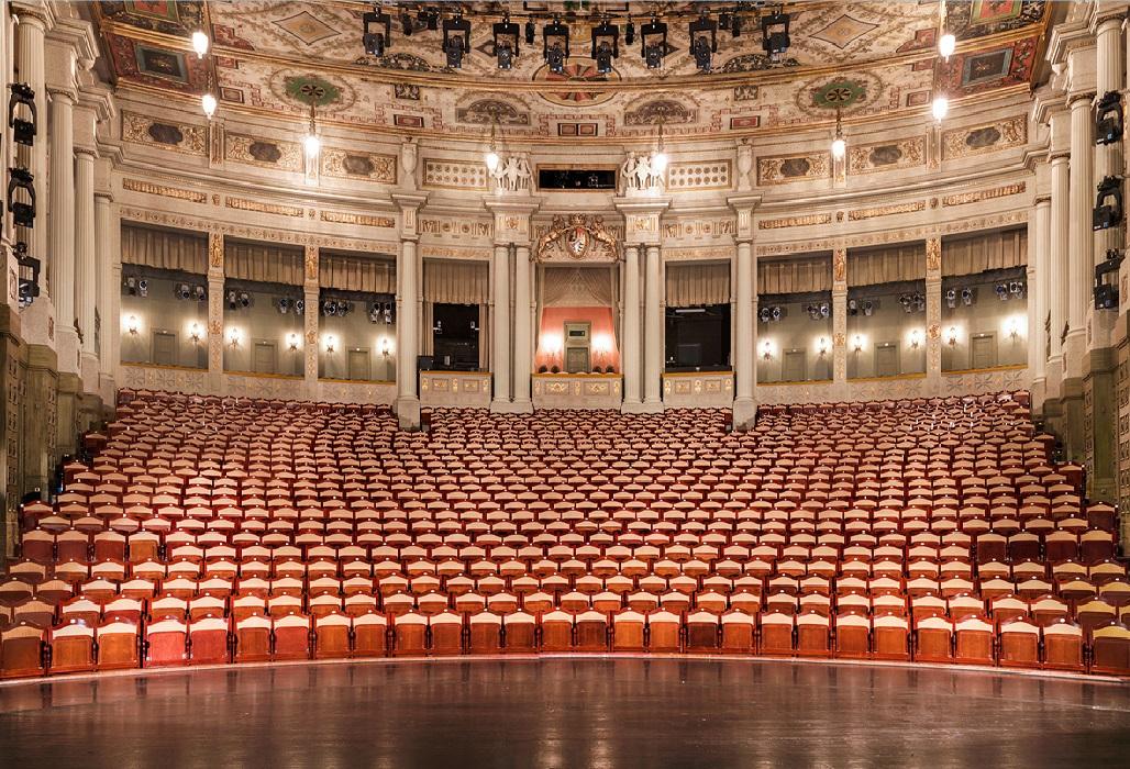 Prinzregententheater, Blick in den Spielsaal