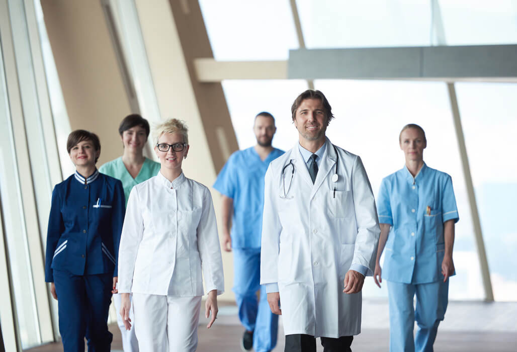 Team aus medizinischem Fachpersonal