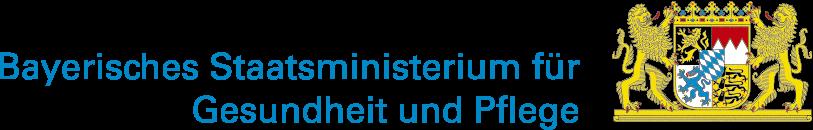 Logo des Bayerischen Staatsministeriums für Gesundheit und Pflege