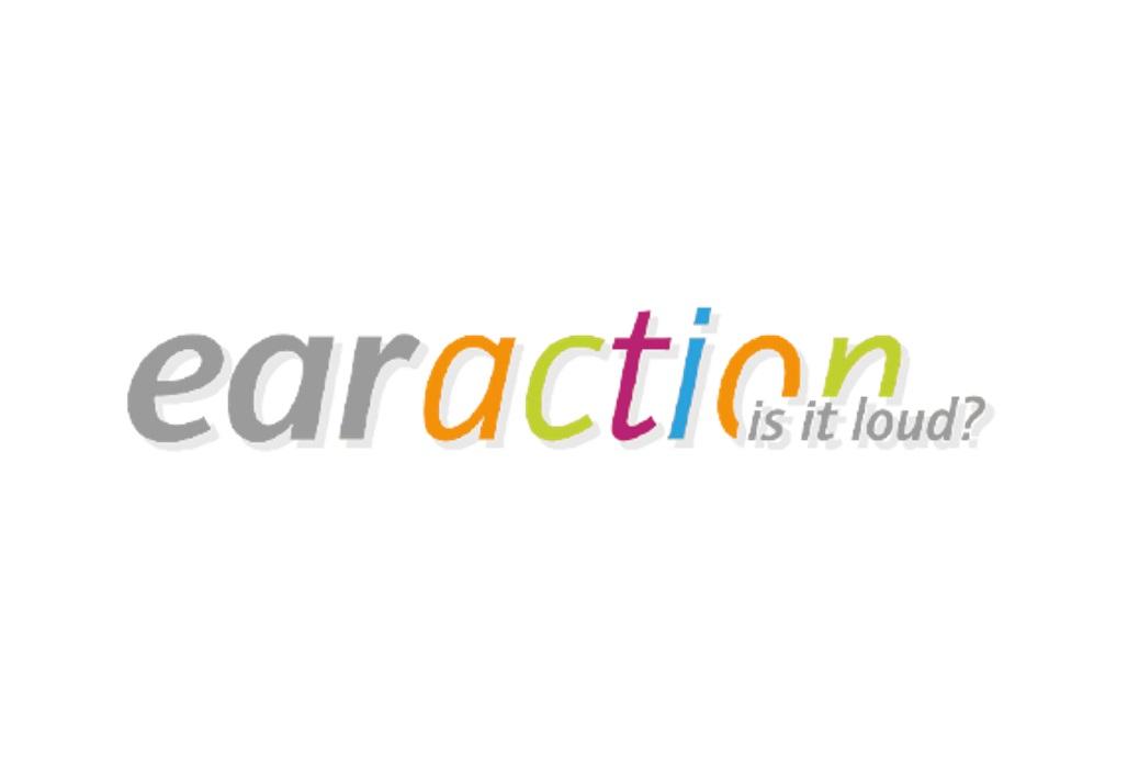 Logo des Projekts earaction.