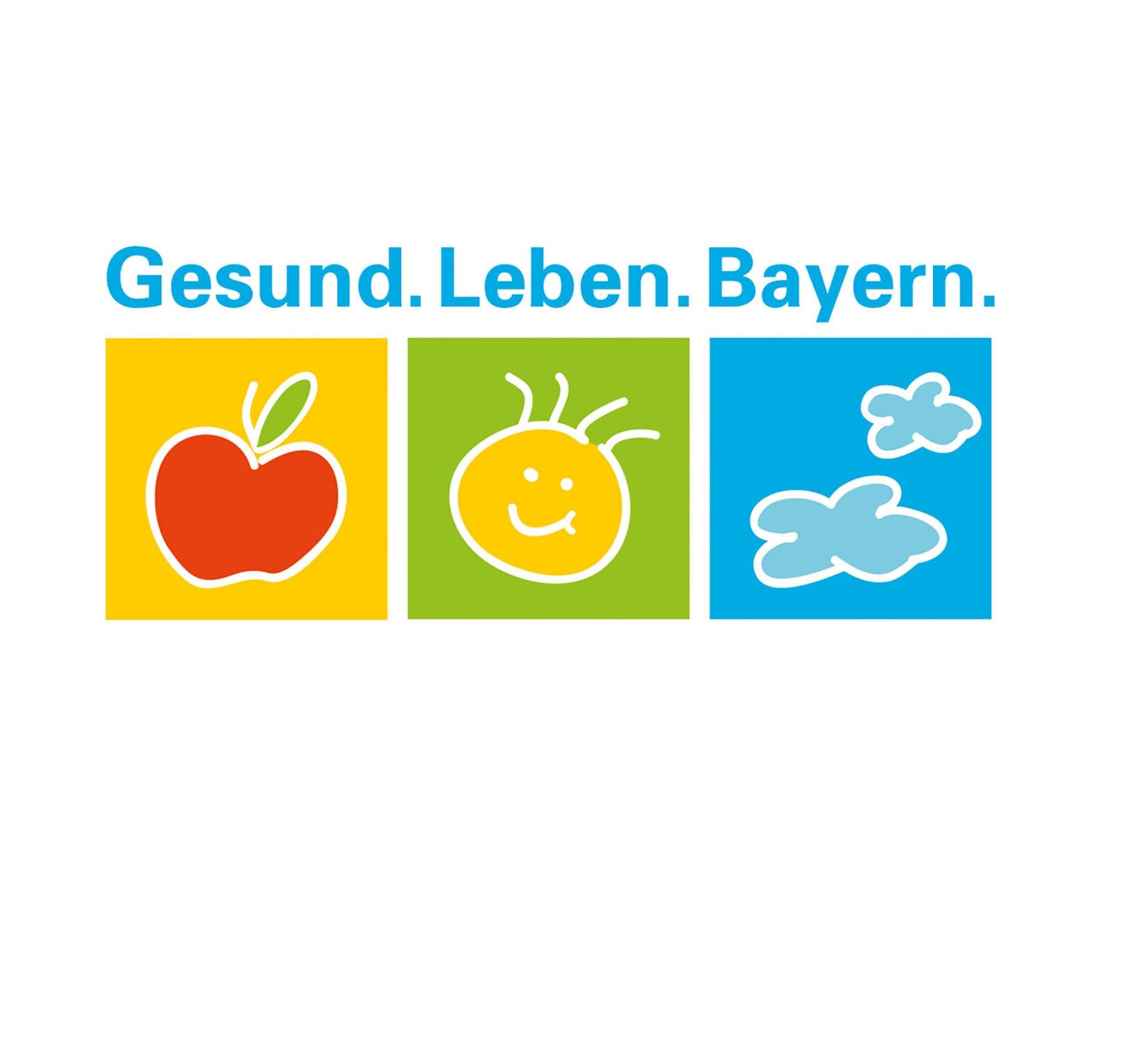 Logo des Förderprogramms Gesund.Leben.Bayern.