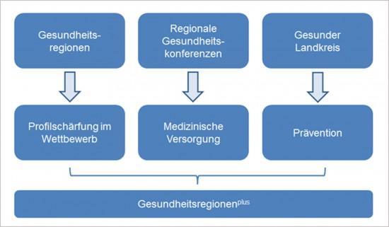Gesundheitregionenplus modell