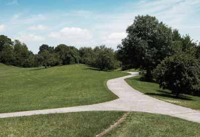Weg im Grünen - Hospiz