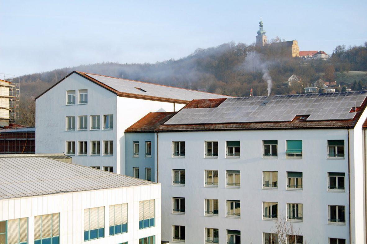 Photovoltaikanlage, Klinikum Amberg.