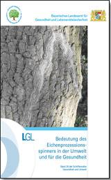 Publikation Bedeutung des Eichenprozessionsspinners in der Umwelt und für die Gesundheit.