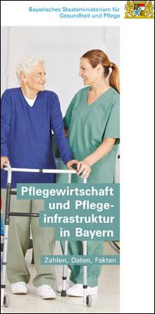 Publikation Pflegewirtschaft und Pflegeinfrastruktur in Bayern.