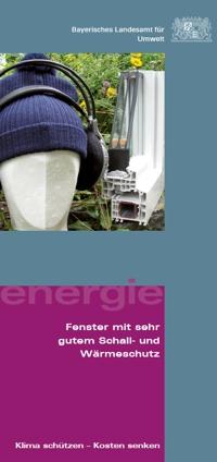 Publikation Energie - Fenster mit sehr gutem Schall- und Wärmeschutz.