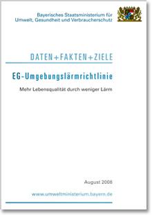 Publikation EG-Umgebungslärmrichtlinie.