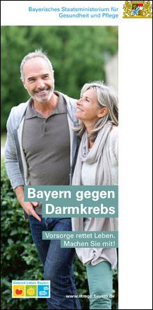 Publikation Bayern gegen Darmkrebs.