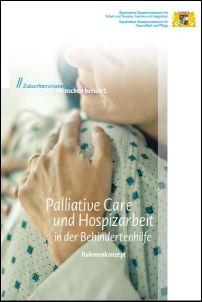 Publikation Palliative Care und Hospizarbeit in der Behindertenhilfe.