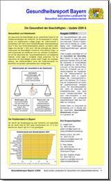Publikation Gesundheitsreport Bayern.