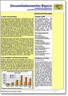 Publikation Gesundheitsmonitor Bayern.