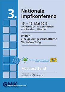 Publikation 3. Nationale Impfkonferenz.