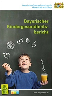 Publikation Bayerischer Kindergesundheitsbericht.