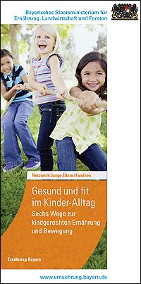 Publikation Gesund und Fit im Kinder-Alltag.
