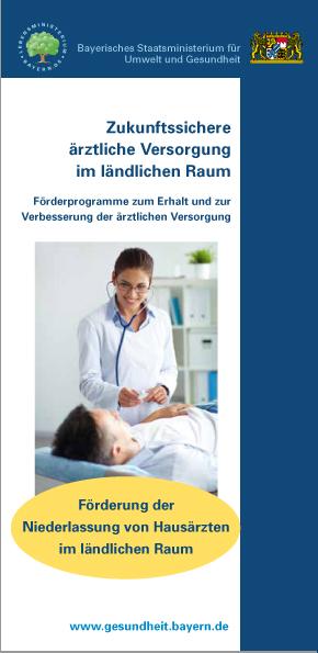 Publikation Zukunftssichere ärztliche Versorgung im ländlichen Raum.