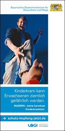 Publikation Masern - keine harmlose Kinderkrankheit.