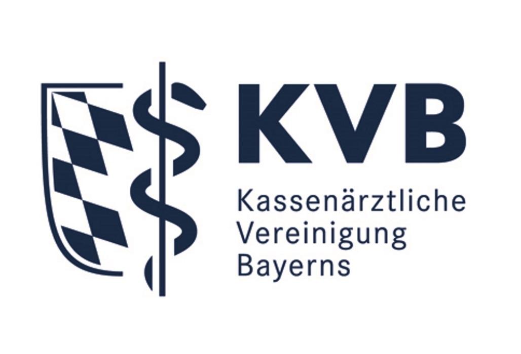 Logo der Kassenärztlichen Vereinigung Bayerns.