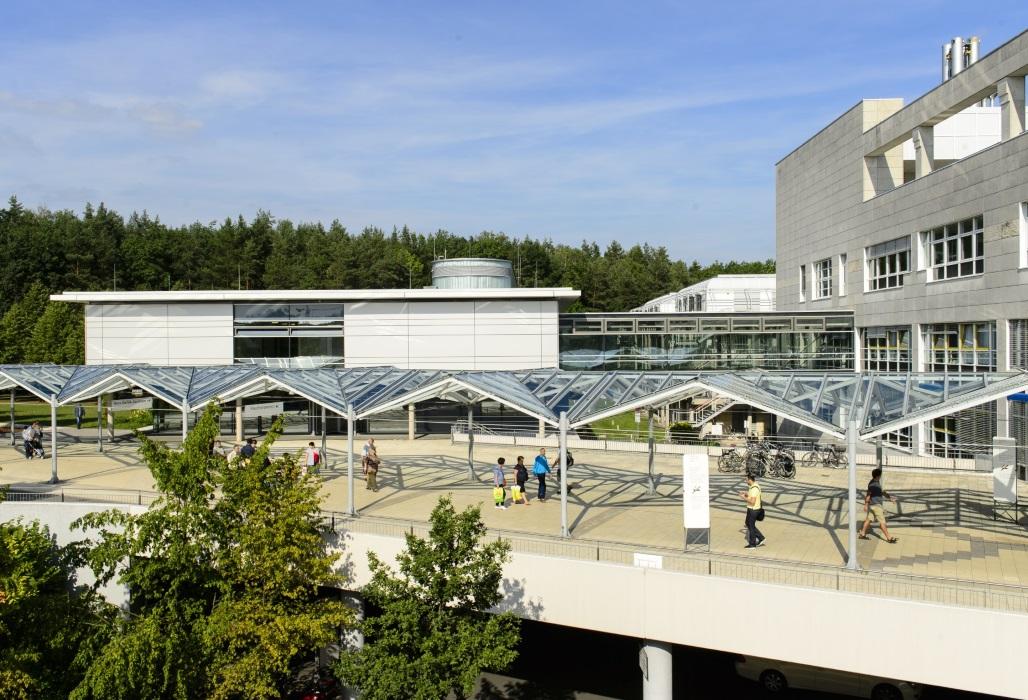 Außenansicht des Nürnberger Krankenhauses.