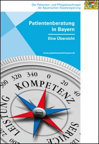Publikation Patientenberatung in Bayern - Eine Übersicht.