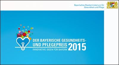 Publikation Der Bayerische Gesundheits- und Pflegepreis 2016.