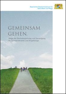 Titelblatt Broschüre Gemeinsam Gehen