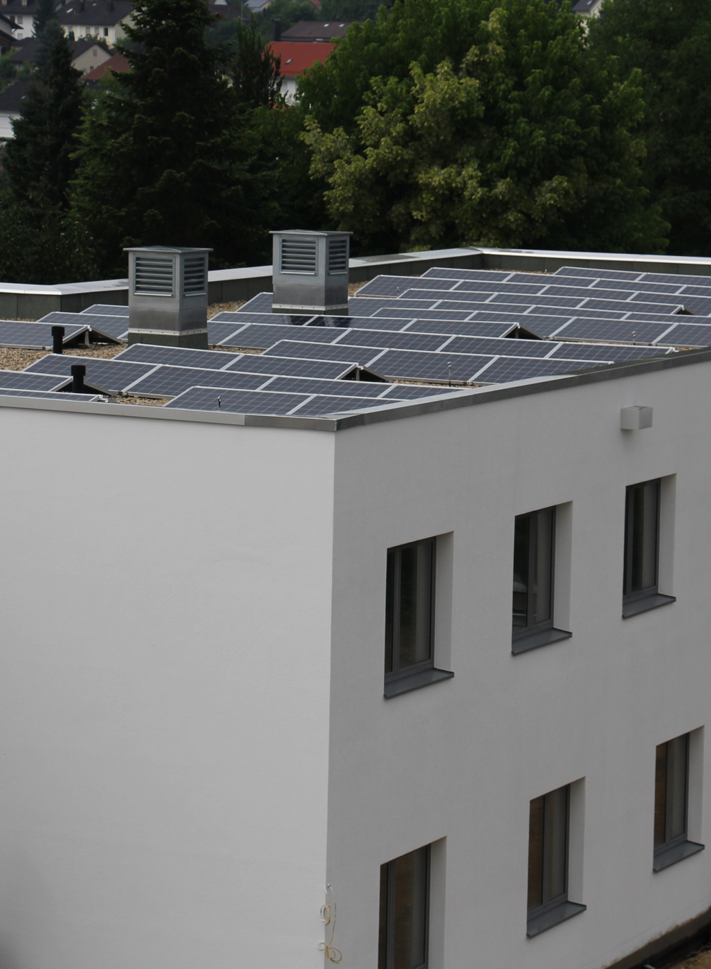Photovoltaikanlage, Kreiskrankenhaus Vilshofen.