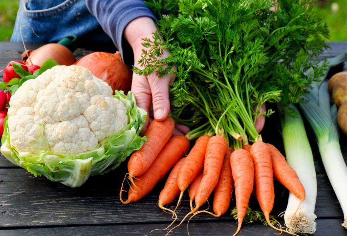 Gemüse für eine gesunde Mischkost.