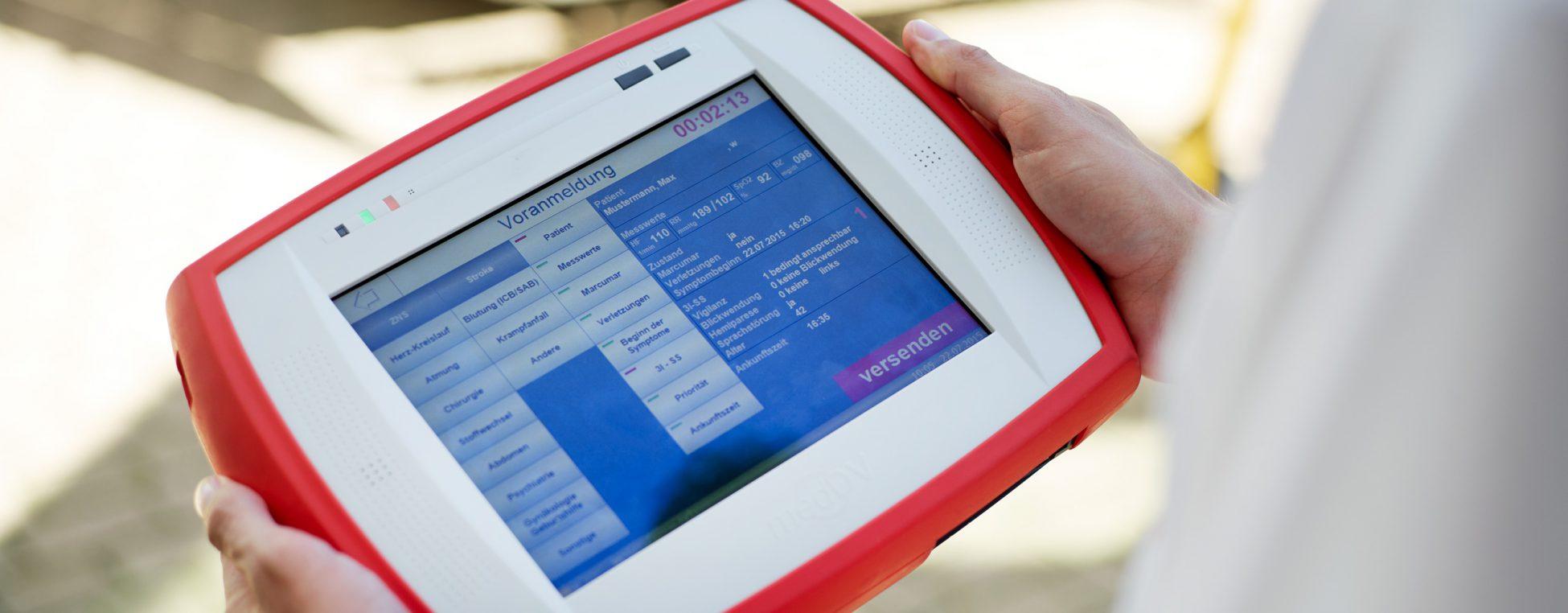 Telemedizinisches Tablet