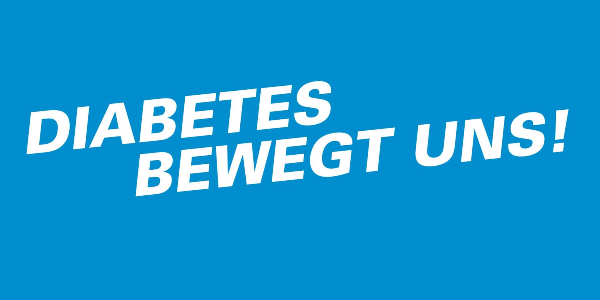 Logo Diabetes bewegt uns.