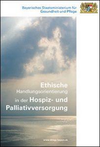 Titelblatt: Ethische Handlungsorientierung in der Hospiz- und Palliativversorgung
