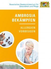 Publikation Ambrosia bekämpfen - Allergien vorbeugen (Flyer)