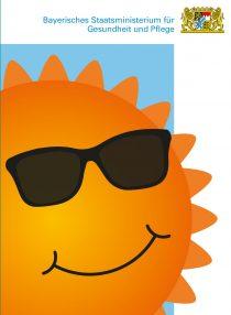 Plakat: Sonne(n) mit Verstand ...statt Sonnenbrand