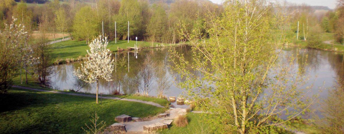 Naturbadeseeanlage Arnstein, Unterfranken