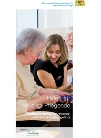 Titelblatt Hilfen für häuslich Pflegende - Niedrigschwellige Betreuungs- und Entlastungsangebote