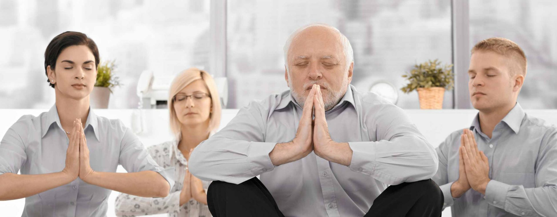 Entspannung beim Yoga