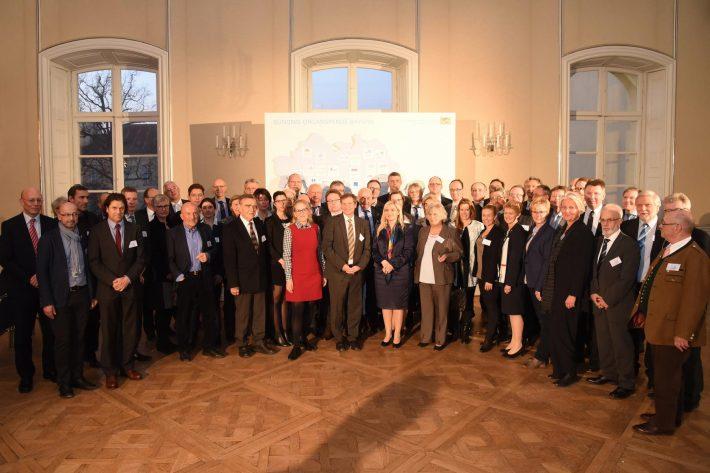 Bündnis Organspende - Mitglieder am 14.03.2016 in Schloss Nymphenburg