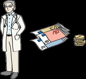 Arzt und Geld