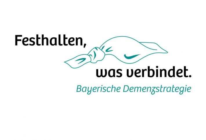 Bayerische Demenzstrategie - Logo - Demenzknoten