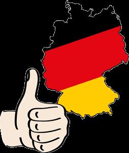 Deutschland - Daumen hoch