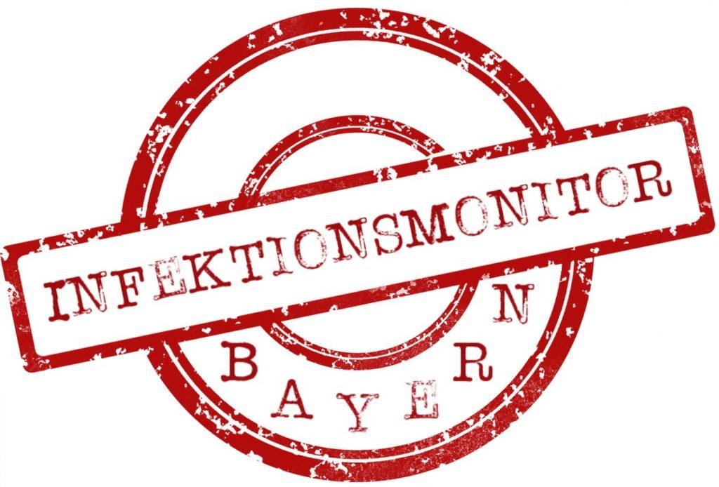 Logo Infektionsmonitor Bayern