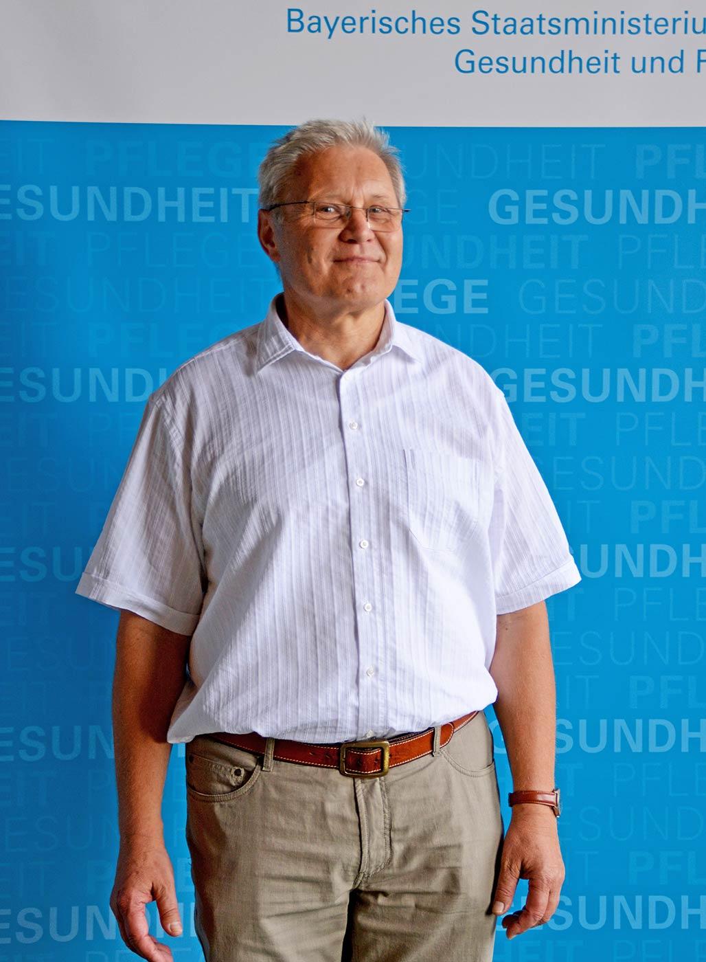 Dr. Wolfram Kress, Mitglied der Bayerischen Ethikkommission für Präimplantationsdiagnostik