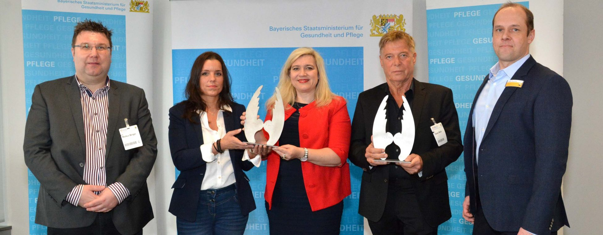 "Health Media Award 2018: Gewinn des Health Angels in der Kategorie ""Social Campaign"""