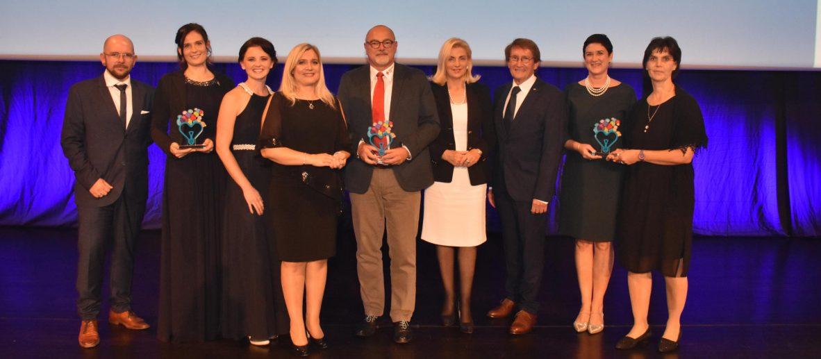 Alle Preisträgerinnen und Preisträger des Bayerischen Gesundheits- und Pflegepreises 2019