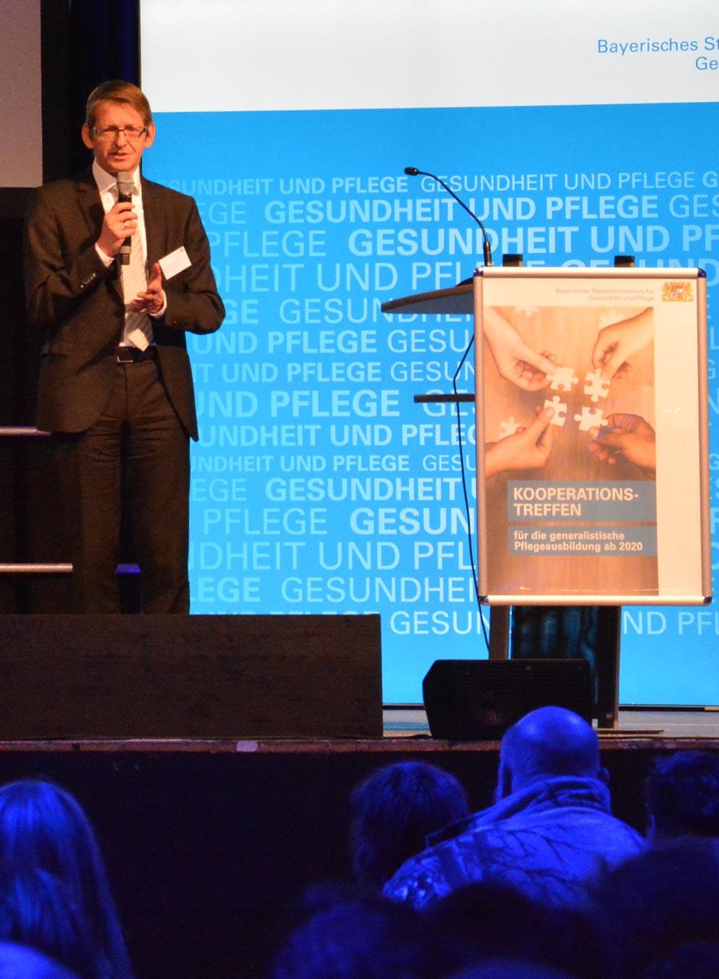 Kooperationstreffen 2019 in München, Dr. Bernhard Opolony