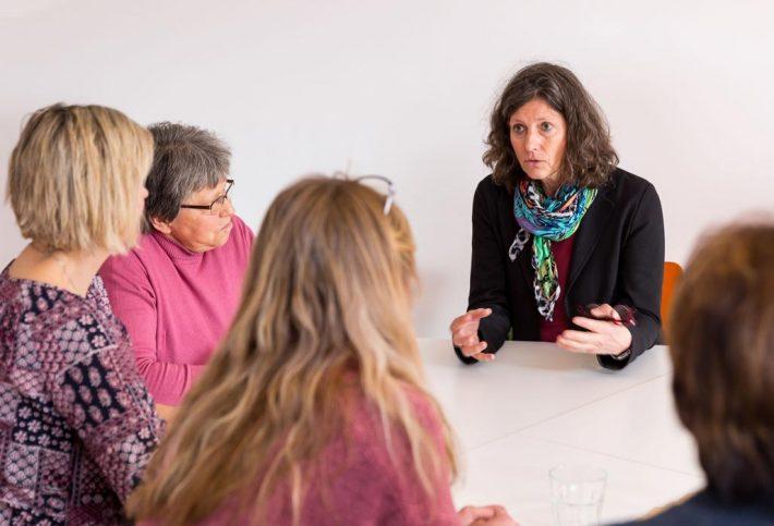 Pflegestützpunkte - Beratung in einer Gruppe