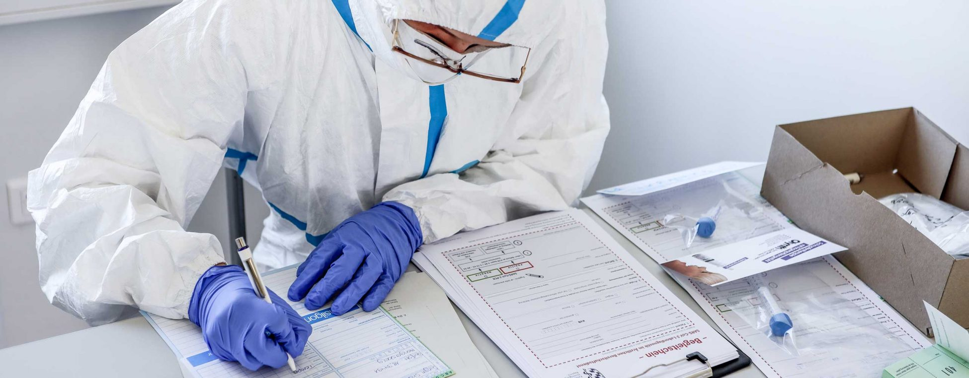 Begleitdokumentation zur Probennahme zur Testung auf Sars-Cov-2