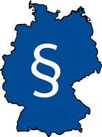 Deutschlandkarte Paragraf