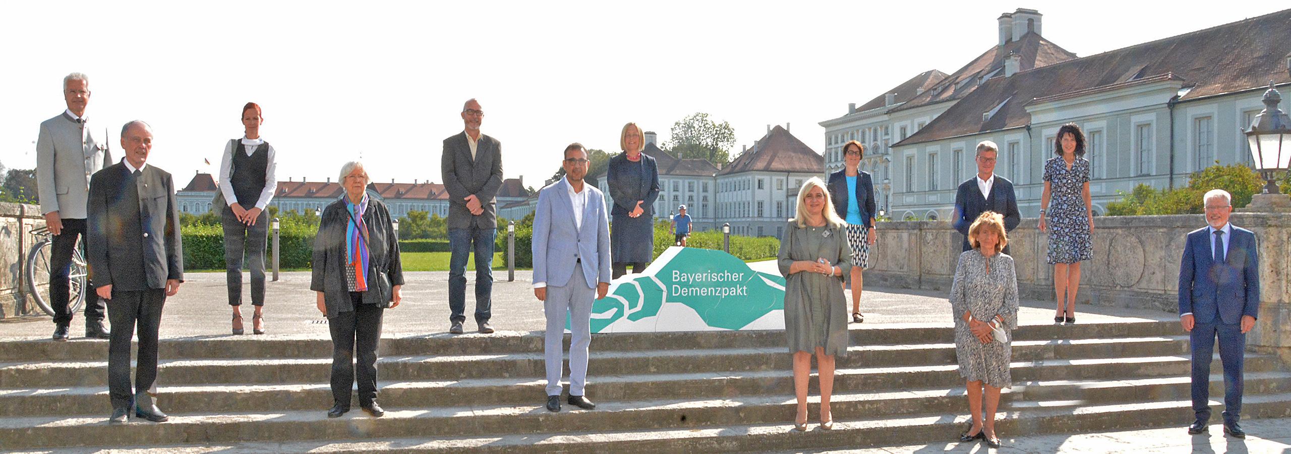 Gruppenfoto Demenzpakt, 21.September 2020