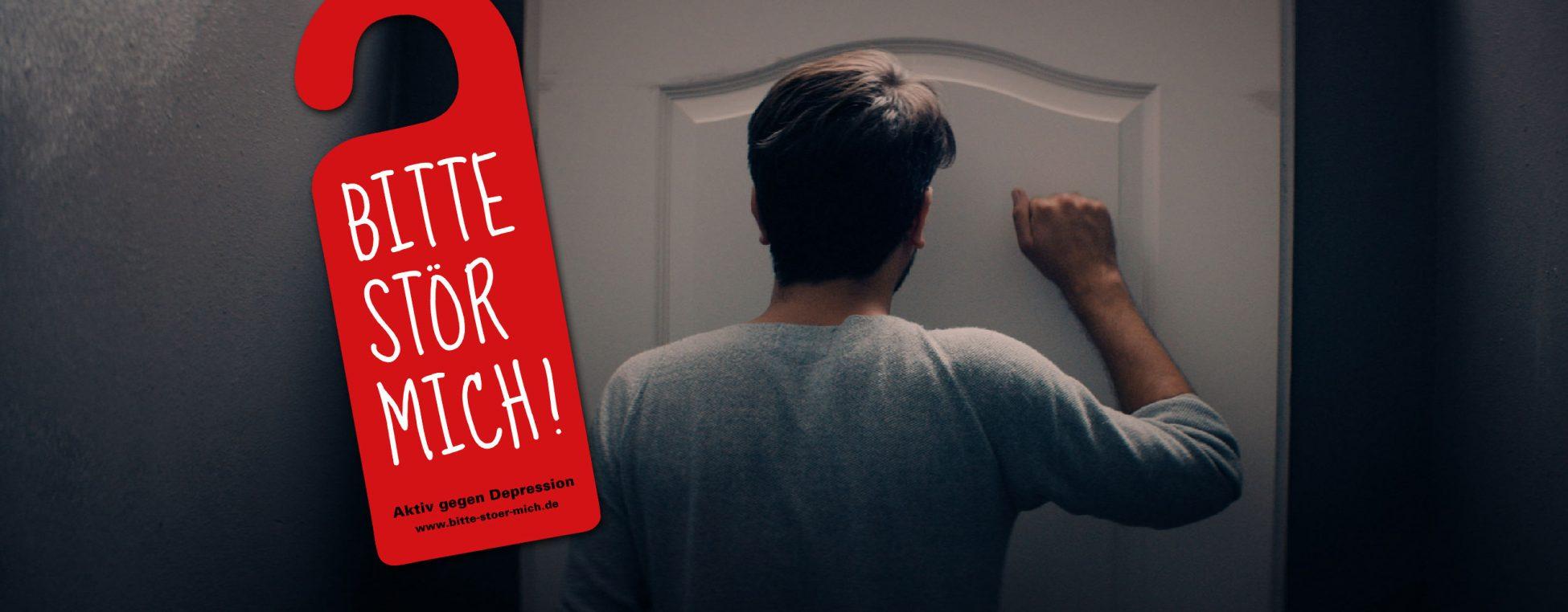 Bild der Kampagne Bitte stör mich! – Aktiv gegen Depression in Zeiten der Corona-Krise